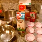 Getting ready to bake muffins with... gasp... MILK in them.